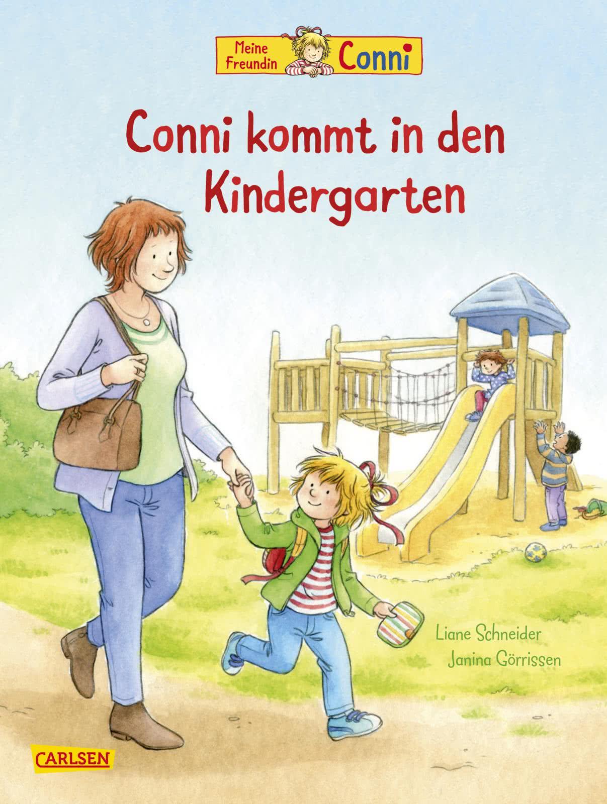 connibilderbücher conni kommt in den kindergarten