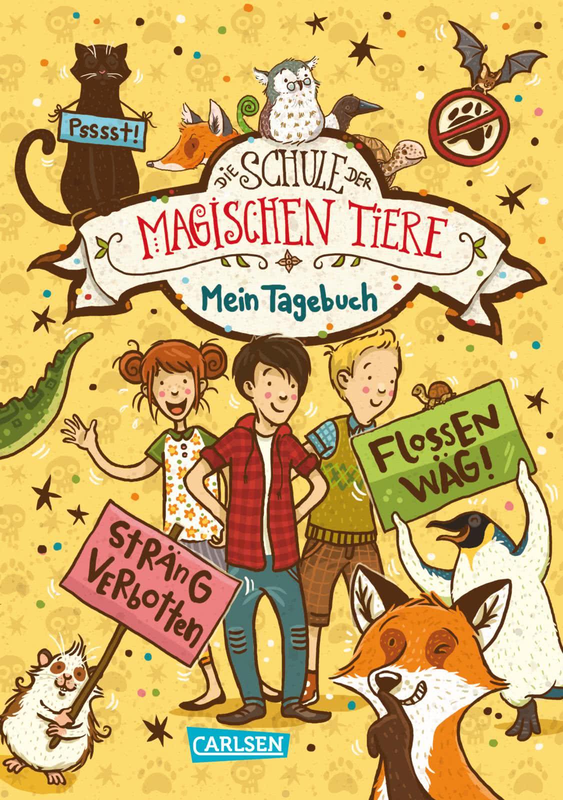 Die Schule der magischen Tiere Mein Tagebuch   Carlsen