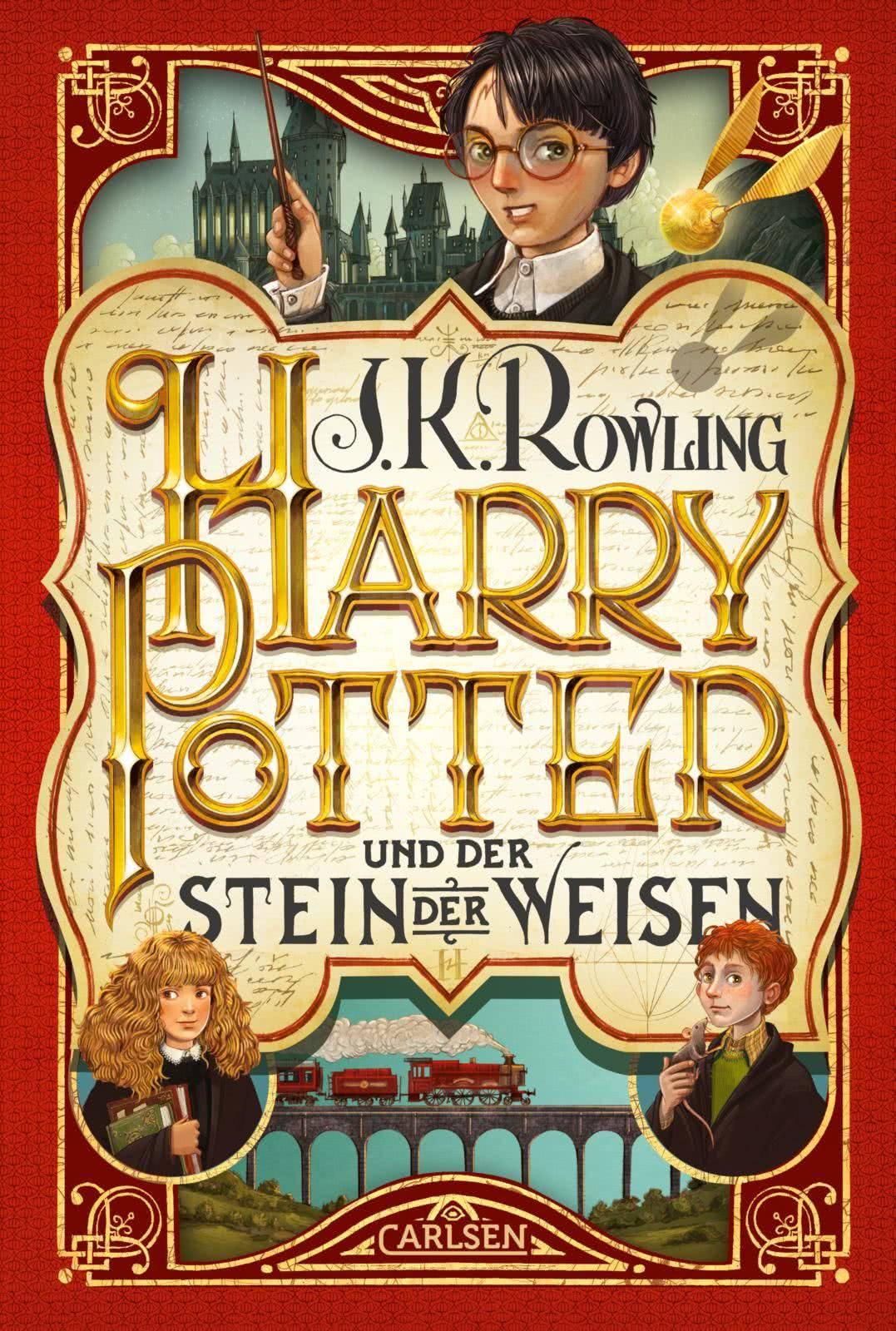 Harry Potter Und Der Stein Der Weisen Harry Potter 1 Carlsen