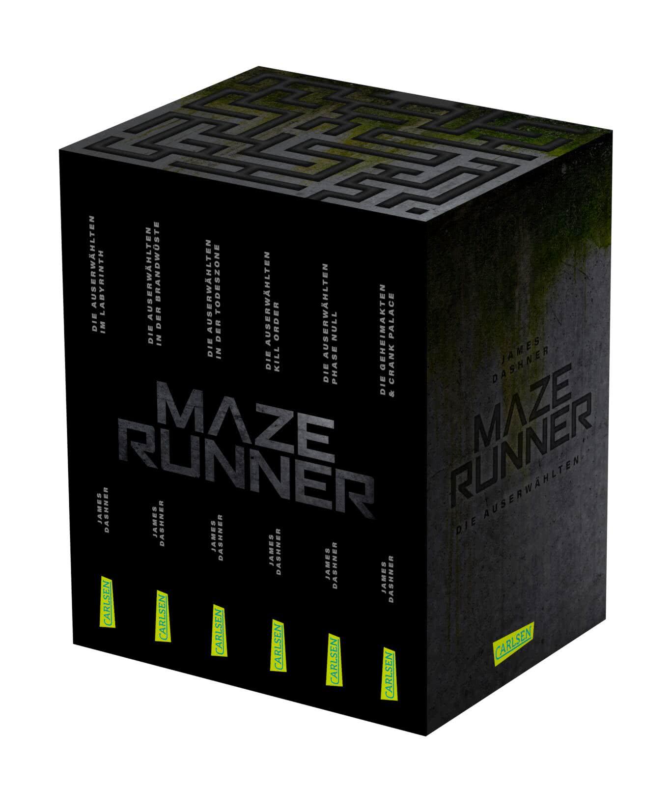 Maze Runner Schuber 20 Bände im Taschenbuch Schuber inklusive ...
