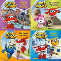 4er-Set Maxi-Mini 13: Super Wings