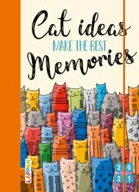 Cat ideas make the best memories 2021: Buch- und Terminkalender