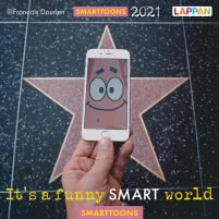 It's a funny smart world: Postkartenkalender 2021