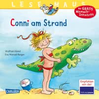 LESEMAUS 14: Conni am Strand