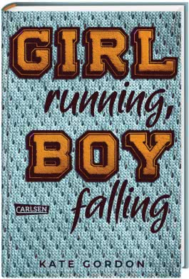 Girl running, Boy falling