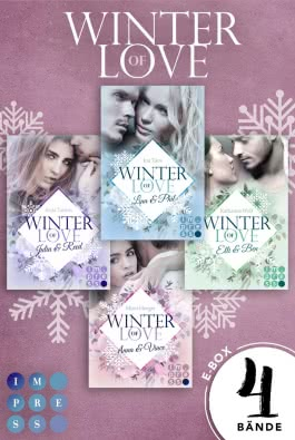 Winter of Love: Alle Bände der romantischen Winter-Serie in einer E-Box!